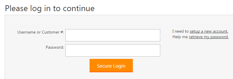 My Account Login - Godaddy