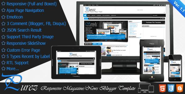 Purez-Responsive-Magazine-Blogger-Template