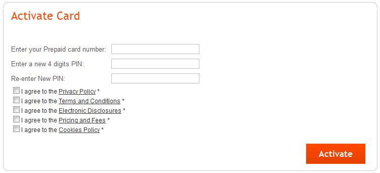 Enter PIN - Payoneer MasterCard