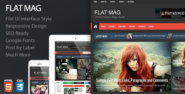 flat-mag-responsive-blogger-theme