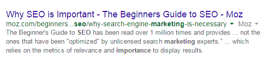 why seo is important - the beginners guide to seo - moz