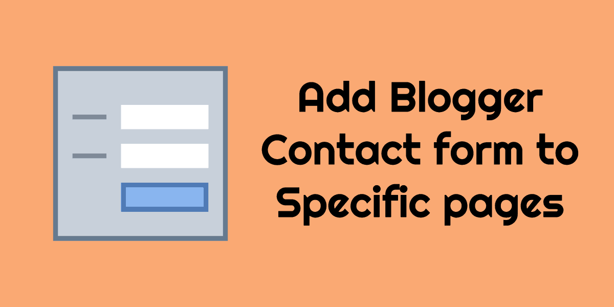 blogger-contact-form-page