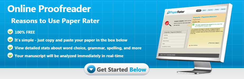 PaperRater-Online-Proofreader