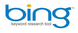 Bing keyword research tool logo png image