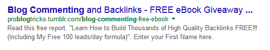 Keyword Rich URL for SEO
