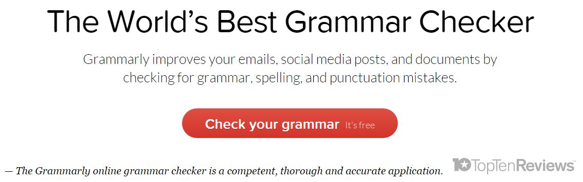 grammar check grammarly