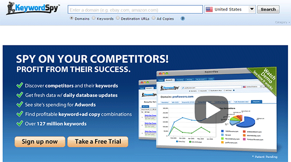 keywordspypro - keyword research - market research and keyword tracking software