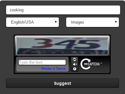 image keywords generate through ubersuggest