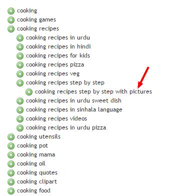 Image keyword scrapping - generate more keywords