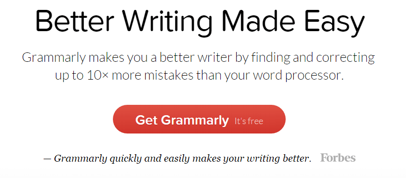 grammarly online proofreading tool