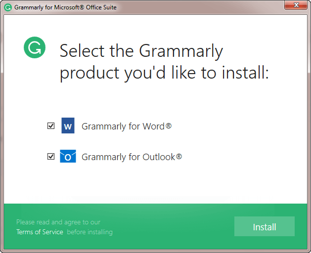 install-grammarly-ms-word-outlook