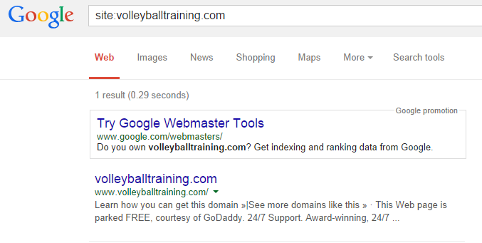 site:volleyballtraining.com - Google search