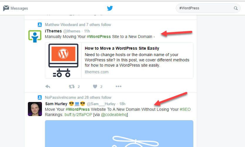 tweets-about-wordpress