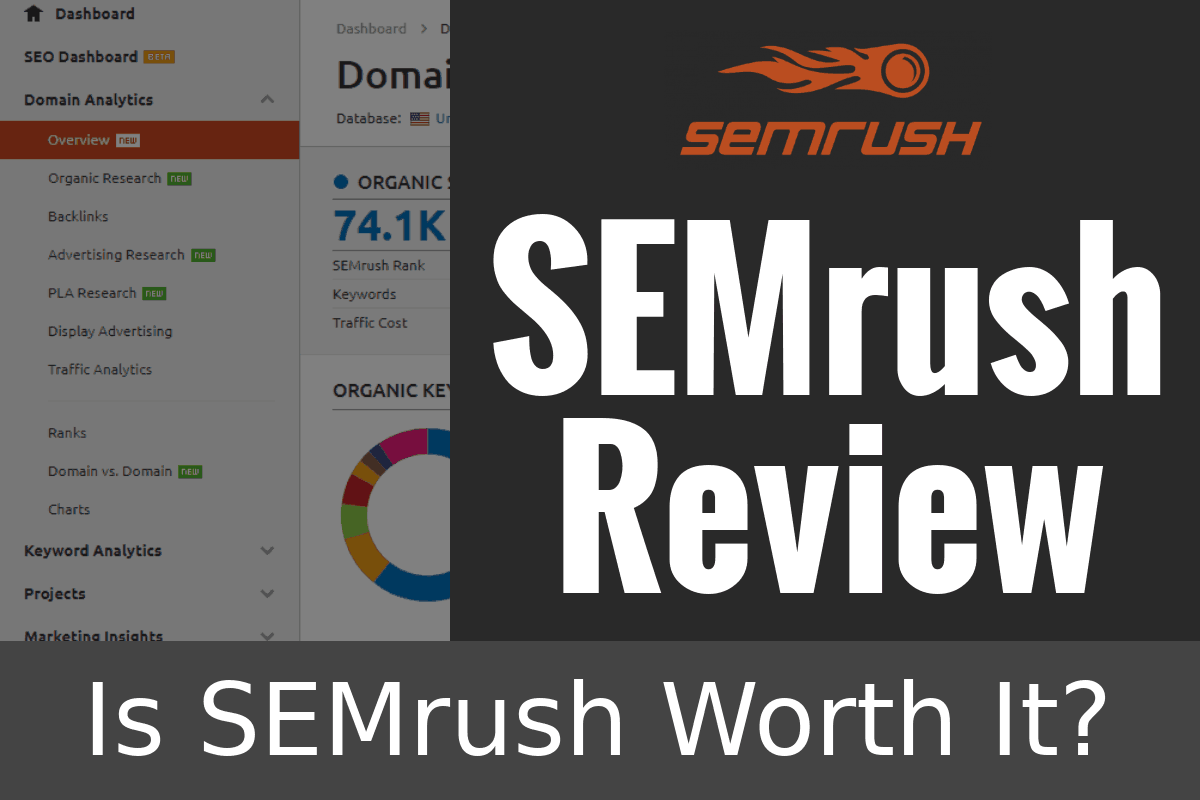 Seo Software Semrush  For Sale Brand New