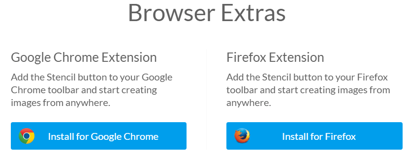 browser extras