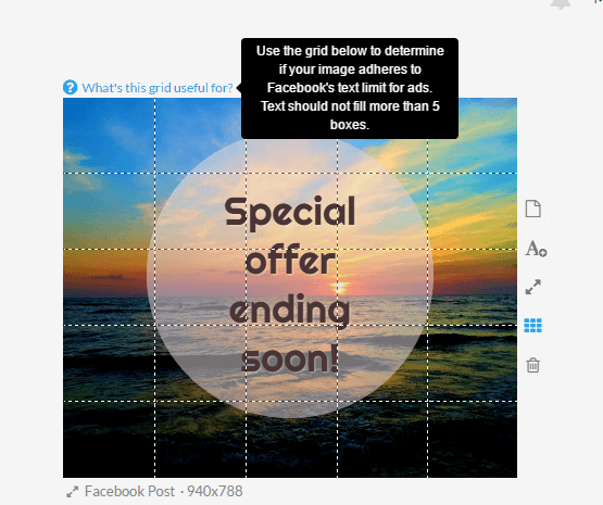 facebook ads grid tool