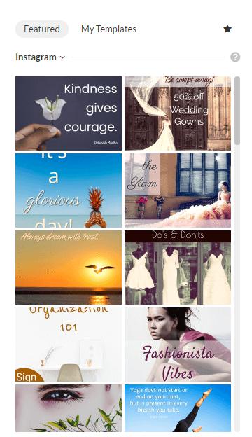 instagram graphic templates