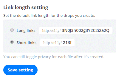 link-length-settings-cloudapp