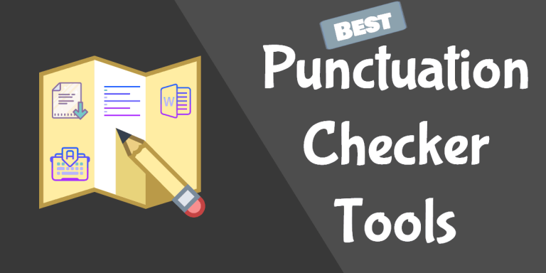 best punctuation checker tools