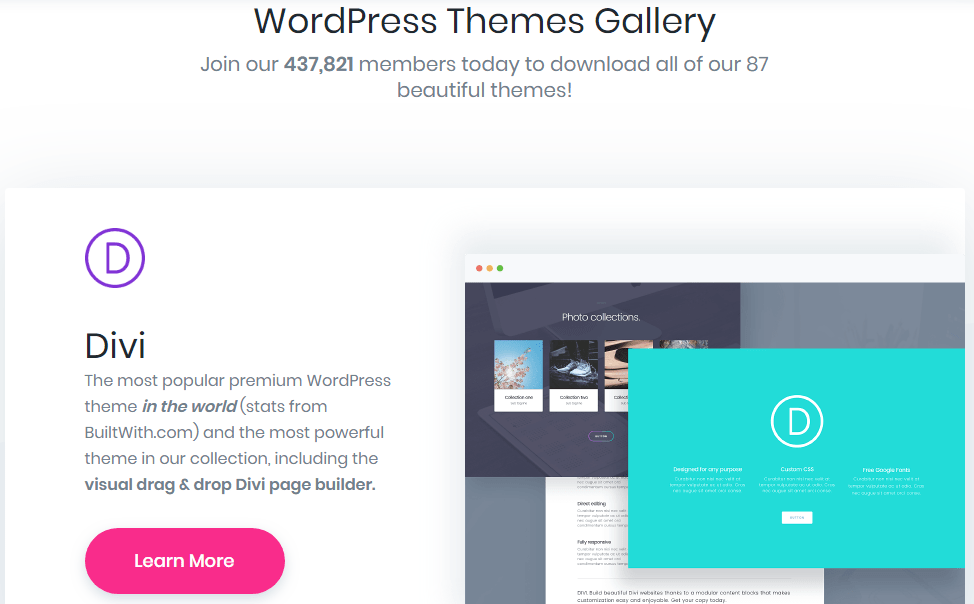 Premium WordPress Themes by Elegant Themes
