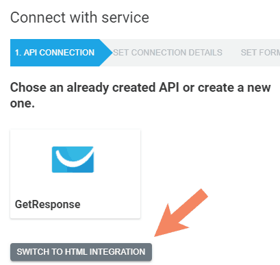 connect-service-html-form-integration