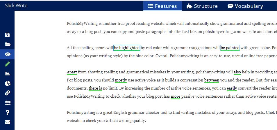 check paragraph grammatical errors