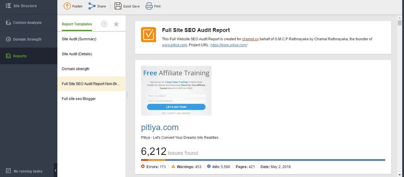 website-auditor-custom-reports