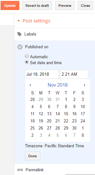 update-published-date-blogger-post-settings