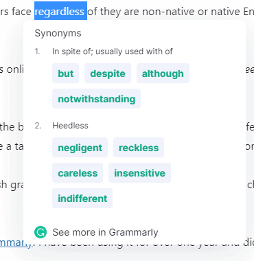 find-synonyms-grammarly-extension