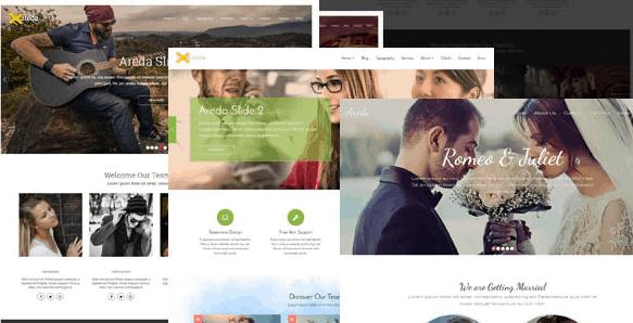 Areda - Responsive Multipurpose Blogger Template