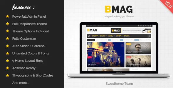 Bmag blogger theme