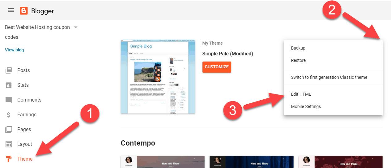 edit-html-blogger