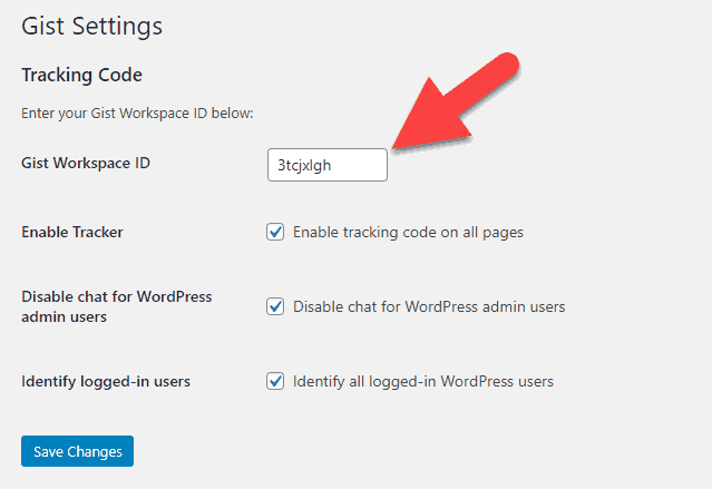 gist-wordpress-settings