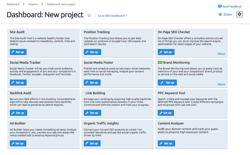 new-project-dashboard-semrush