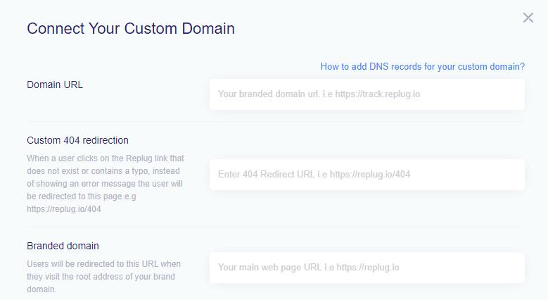 connecting custom domain