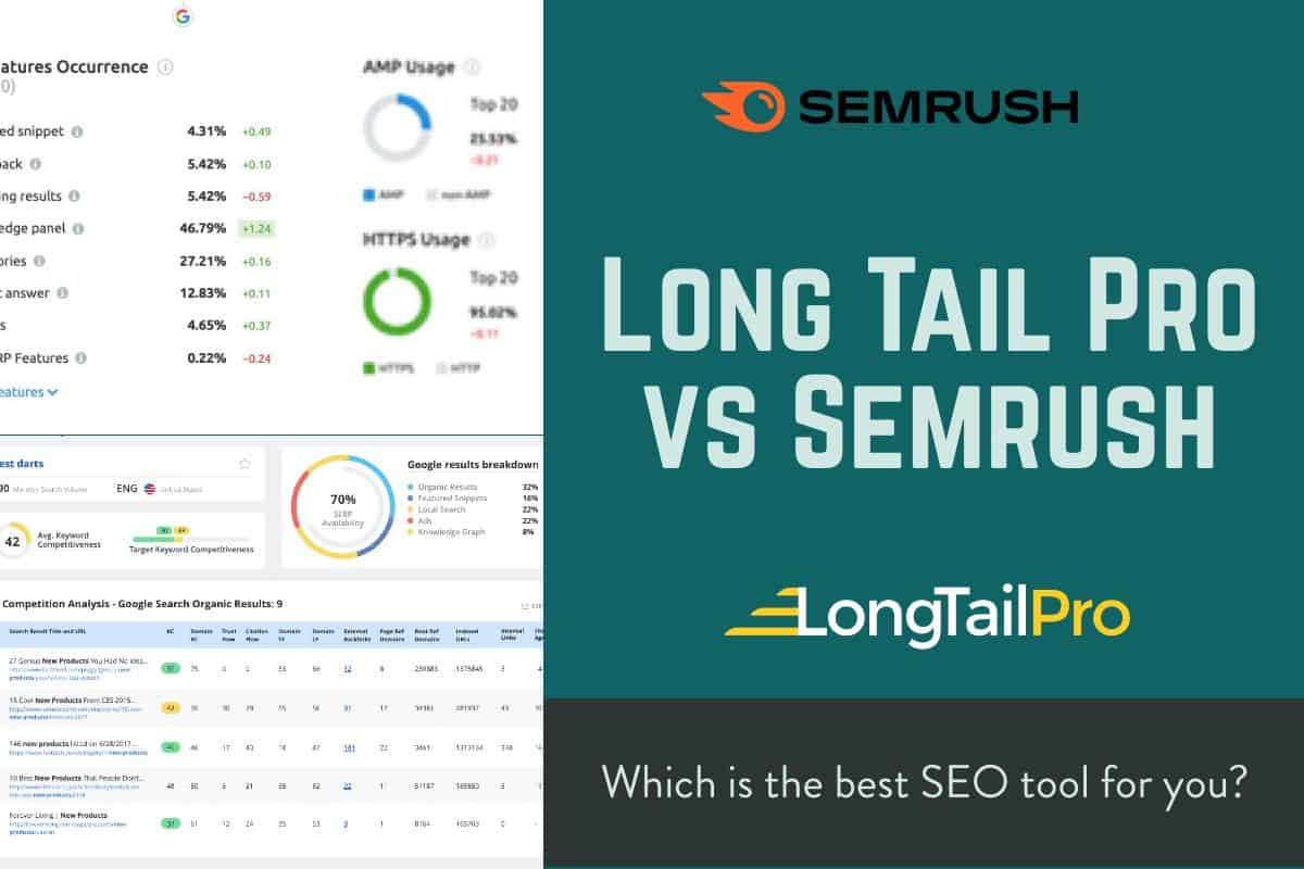 long tail pro vs semrush