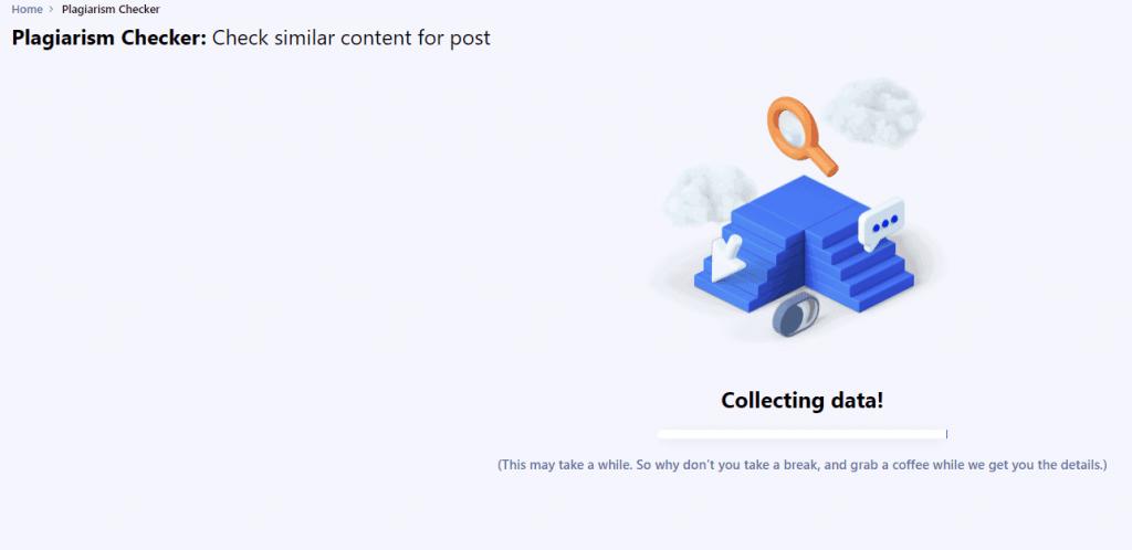 collecting data writerzen