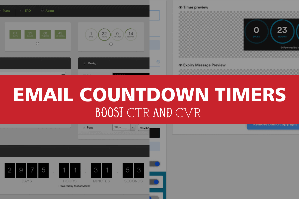 email countdown timers