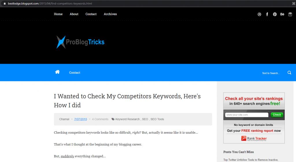 problogtricks-blogger