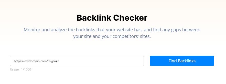 BrandOverflow's Backlink Checker