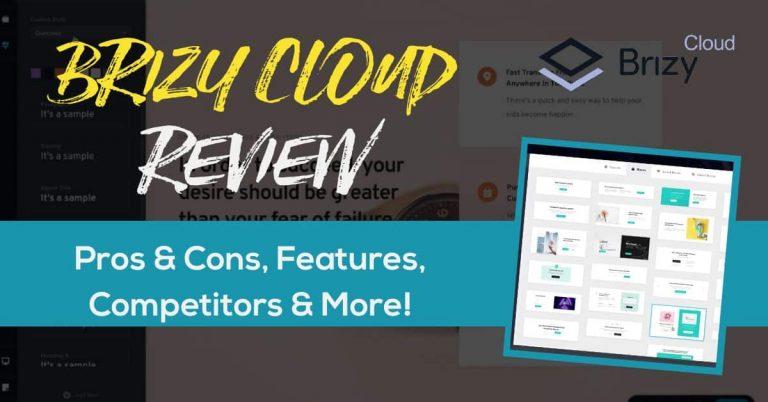 Brizy Cloud review