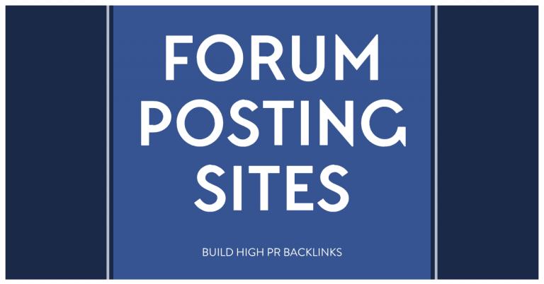 dofollow-forum-posting-sites
