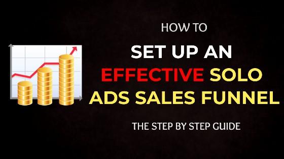 Solo ads sales funnel