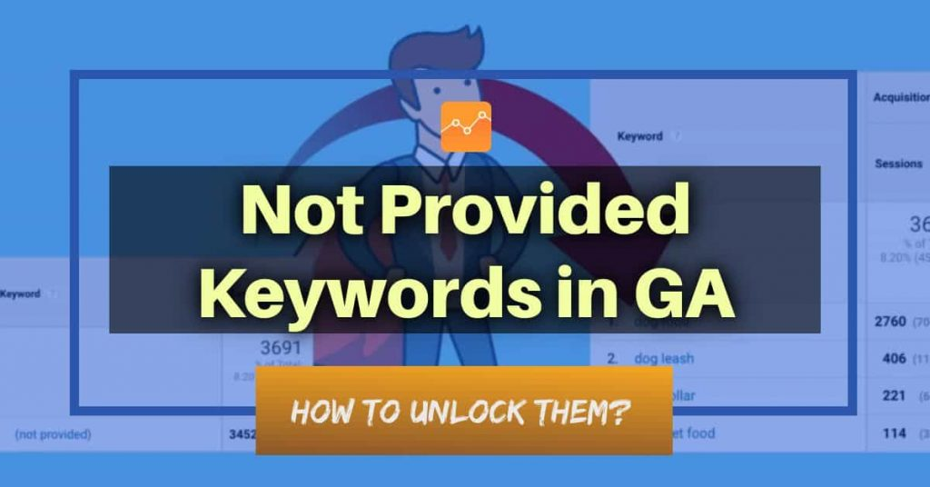 not provided keywords Google Analytics