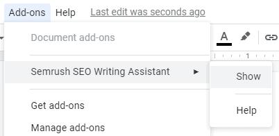 enable-Semrush-SEO-Writing-Assistant-google-docs