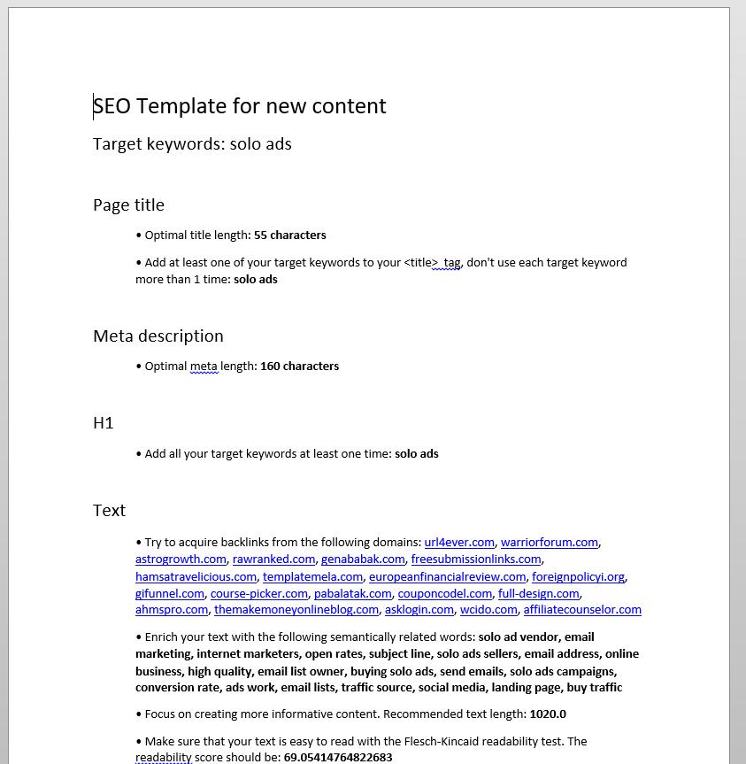 semrush-SEO-content-template-word-document