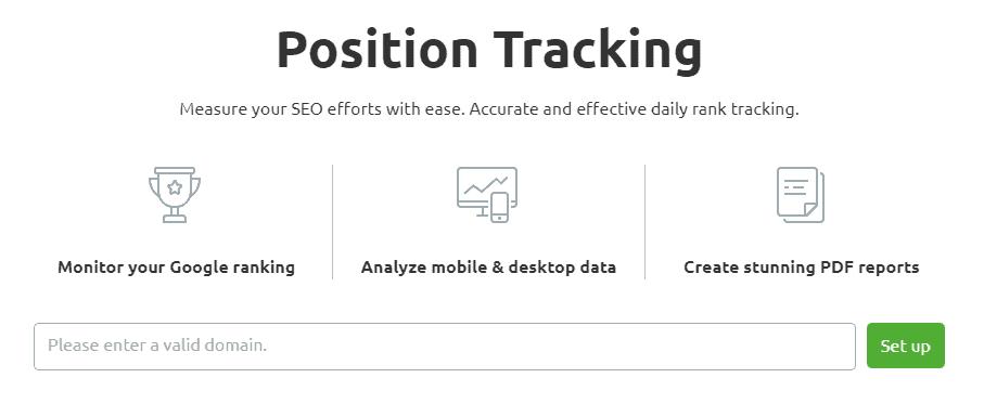 semrush-position-tracking-tool