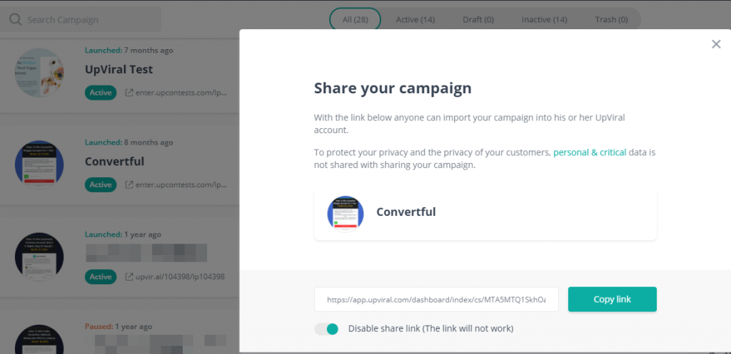 share-campaign-upviral