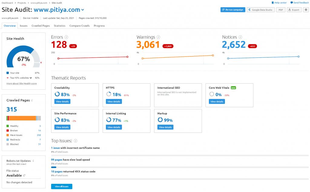 site-audit-overview