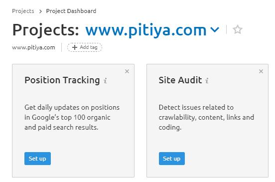 site-audit-setup-semrush-projects